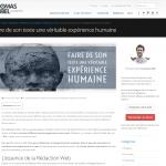 Partenariat Thomas Cubel Guest Blogging Camille Gillet