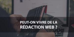 Peut-on vivre de la Rédaction Web