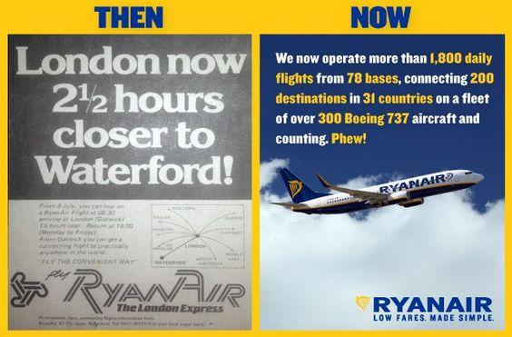 Ryanair exemple de snack content