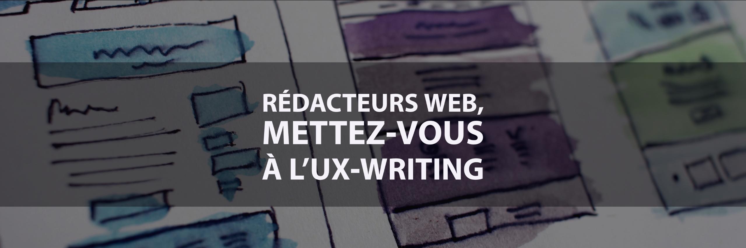 l'UX writing abordé par Camille Gillet
