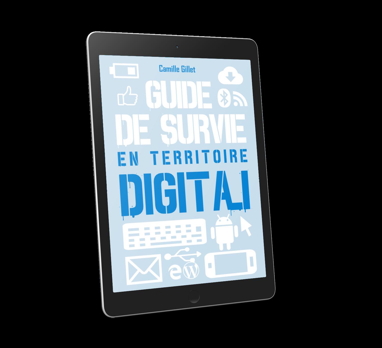 Le guide de survie en territoire digital par camille gillet storyteller